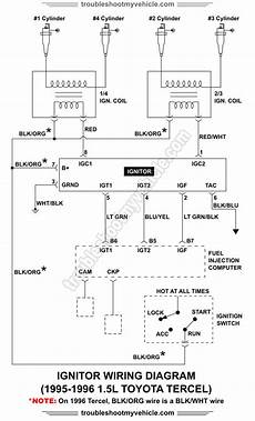 ignitor wiring diagram 1995 1996 1 5l toyota tercel