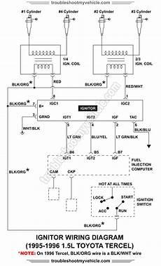 Ignitor Wiring Diagram 1995 1996 1 5l Toyota Tercel