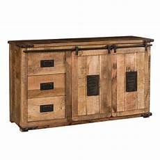credenze etniche moderne mobile credenza industrial chic legno massello e ferro