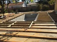 structure terrasse bois construction de terrasse bois piscine 224 gujan mestras