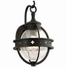 mendocino collection 15 quot high black outdoor wall light 2v849 ls plus