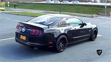 ford mustang gt 5 0 supercharged ford mustang gt 5 0 stage ii exhaust sounds accelerations