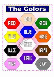 esl worksheets for colors 12987 the colors esl worksheet by charmed one