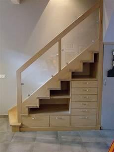 Escalier Bois Avec Rangement