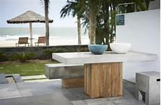 table de jardin moderne tables de jardin en marbre et durables et esth 233 tiques