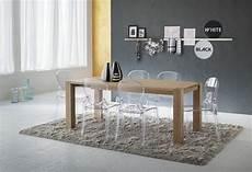 table et chaise transparente d 233 co de salle 224 manger contempraine avec des chaises
