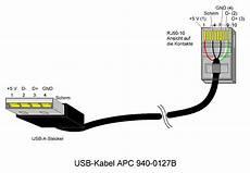 apc usb to rj45 cable pinout usb electronics basics wiring