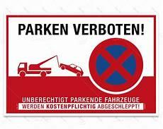 Hinweisschild Parken Verboten Despri S0004