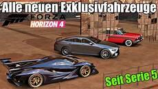 Forza Horizon 4 Alle Neuen Exklusivfahrzeuge In 2019