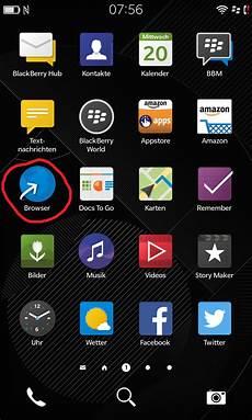 blackberry 10 os android apps installieren ponteshare