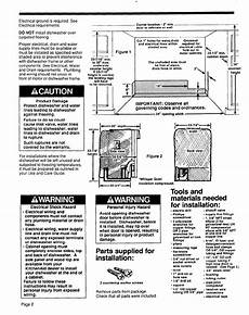 Kitchenaid Dishwasher Install Manual by Page 2 Of Kitchenaid Dishwasher 4171206 User Guide