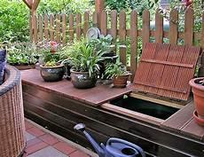 Regenwasser Sammeln Depot Fertig Garten