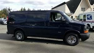 2015 Chevrolet Express 3500 Diesel Passenger Van With