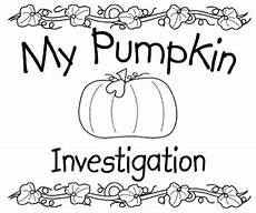 my pumpkin investigation book by perfectly primary printables tpt