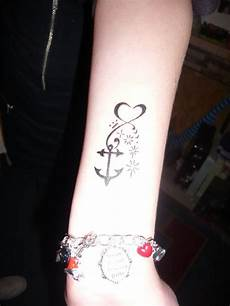 Beautiful Anchor On Wrist For Find More