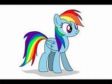 My Pony Malvorlagen Rainbow Dash How To Draw Rainbow Dash From My Pony Friendship Is