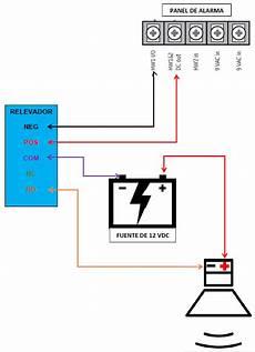 191 c 243 mo conectar una sirena con relevador en panel simon xt xti centro de ayuda tecnosinergia