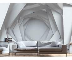 effet de profondeur peinture murale papier peint moderne white mystery in 2019 behangpapier designer wallpaper