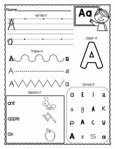 free alphabet handwriting worksheets a to z 21684 a z letter worksheets set 3 letter worksheets for preschool kindergarten worksheets letter