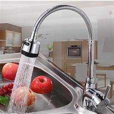 kitchen tap faucet kcasa kitchen faucet solid brass pull tap cold taps water outlet at banggood