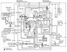 1987 Nissan Vacuum Hoses Diagram Wiring Schematic