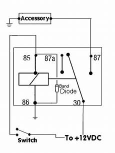 12 volt 5 pin relay wiring diagram positive switched relay schematic diagram automotive electrical car audio installation car