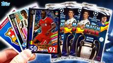 match attax chions league 17 18 unboxing