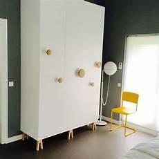 Ikea Pax Hack With Muuto Dots On Superfront Legs Apt In