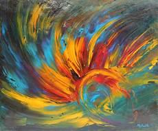 modeles peintures abstraites tableau quot eveil quot 60x50 cm peinture abstraite