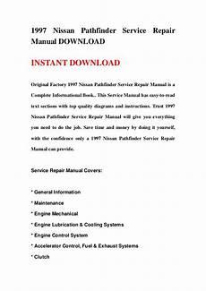 car repair manuals online pdf 1992 nissan pathfinder instrument cluster 1997 nissan pathfinder service repair manual download