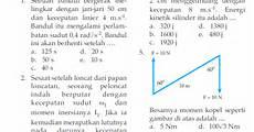 soal ukk uas fisika kelas xi semester 2 genap rumus matematika