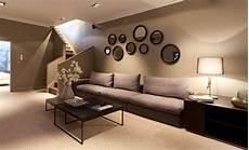 wohnzimmer wandgestaltung braun wandfarbe braun zimmer streichen ideen in braun freshouse