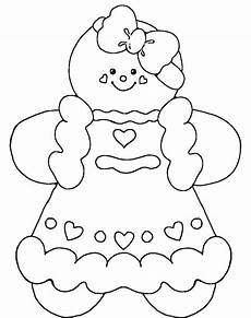 gingerbread coloring pages to and print for free