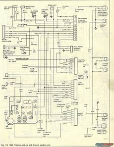 86 ford truck wiring diagram 1986 ford bronco wiring diagrams picture supermotors net
