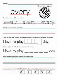 worksheets for 1st grade sight words first grade sight words printable free homeschool worksheets first grade sight word sentences