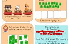 year 1 sharing cubes division teaching resources