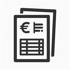 bill currency invoice payment payslip receipt icon