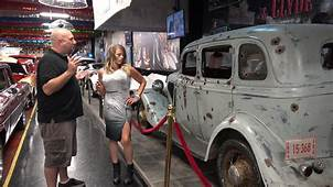 Bonnie And Clyde Car  Volo Auto Museum Series 4K YouTube