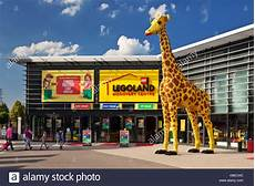 Lego Giraffe In Front Of The Legoland Discovery Centre