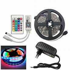 led stripe 5m led strip rgb 5m meja remote blossom toko komputer