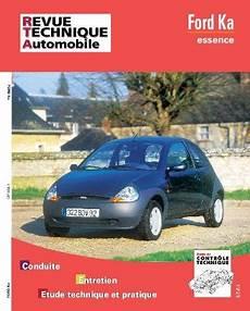 entretien ford ka 1 2 essence revue technique ford ka essence rta 604 1