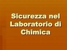 dispense chimica sicurezza nel laboratorio di chimica docsity