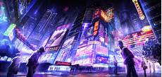 Neon Cyberpunk Phone Wallpaper