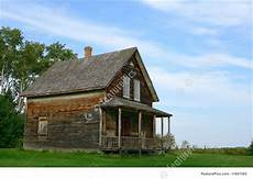 Country House In rural landscapes wooden country house stock picture