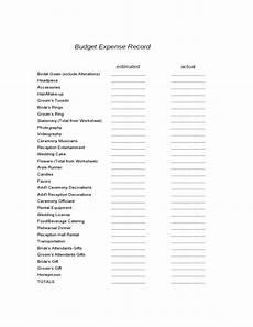 wedding planning worksheets sle free download