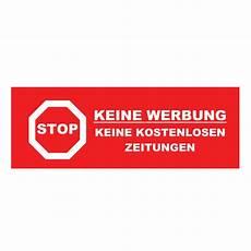 werbung aufkleber briefkasten briefkasten aufkleber 171 stop keine werbung 187 hier g 252 nstig