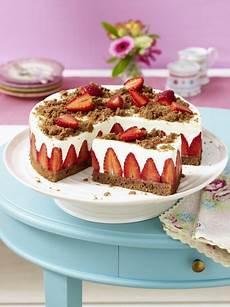 Backen Mit Quark - erdbeer torte mit schokoboden und quarkcreme rezept