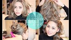 easy hairstyles with straightener 2 easy curly hairstyles for short hair featuring the chi