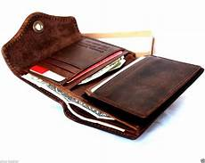s leather wallet 6 credit card slots 2 id