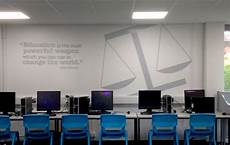 branded walls inspirational quotes and business study displays two thirds design